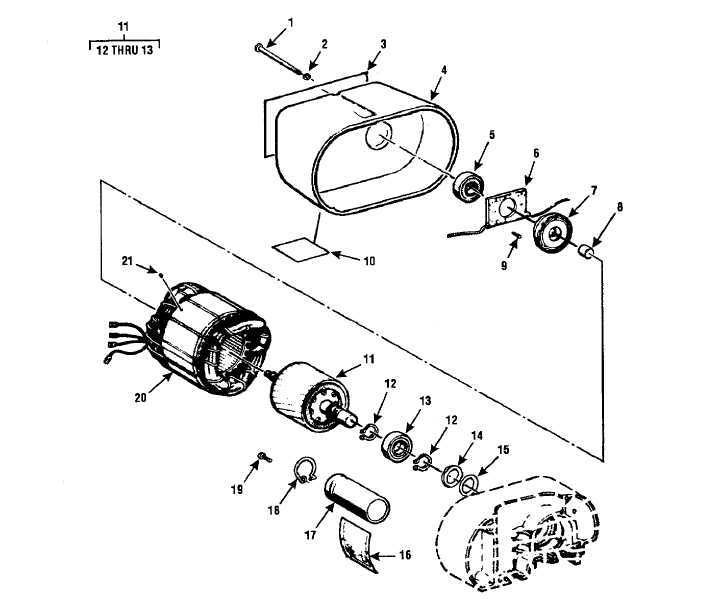 Figure 4 5 Electric Hoist Assembly