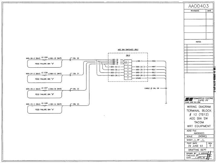 Wiring Diagram Terminal Block  12