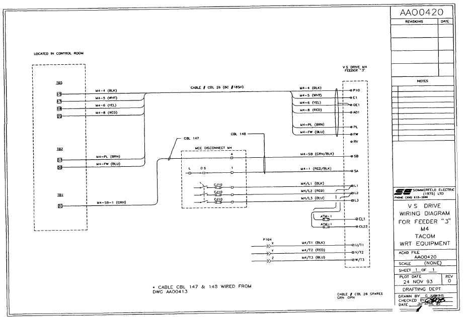 Vs Drive Wiring Diagram For Feeder  U0026quot 3 U0026quot  M4
