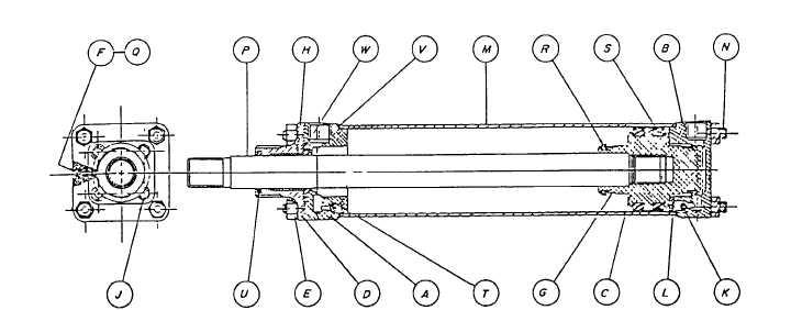 Spottonair Cylinder Parts List Tm 5 3895 374 24 1 671