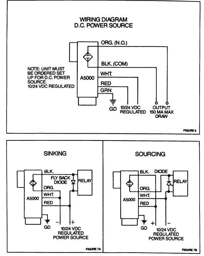 Wiring Diagram D C  Power Source