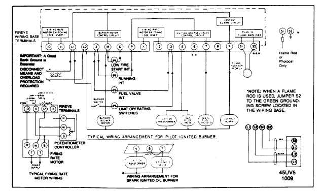TM 5 3895 374 24 2_441_1 suggested wiring diagram for fireye ep260, ep261, ep270 programmer power flame burner wiring schematic at fashall.co